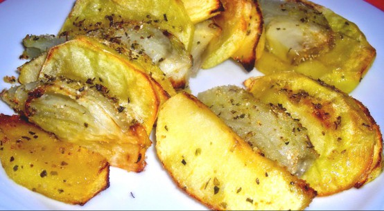 ricetta finocchielle e patate