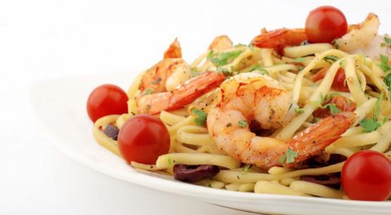 ricetta pasta con gamberetti