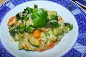 ricetta risotto zucchine e carote