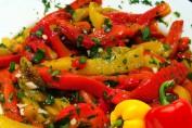 ricetta peperoni al curry con pinoli e uvetta
