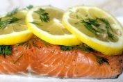 ricetta salmone al limone